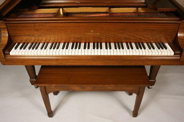 102: 1925 Steinway Baby Grand Piano, Model M - 3