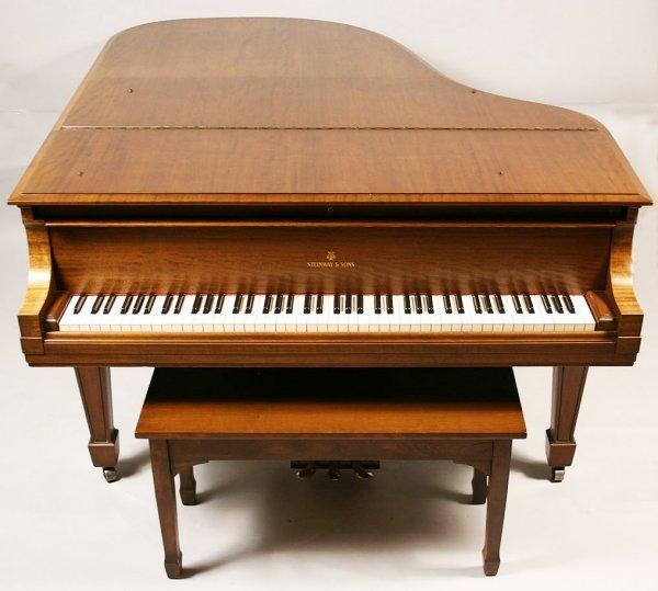102: 1925 Steinway Baby Grand Piano, Model M - 5
