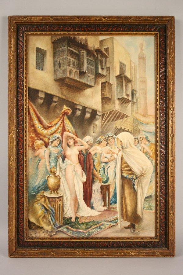 150: Arabian watercolor, Barnsback