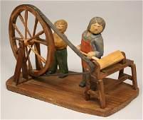 185: Folk art, carving