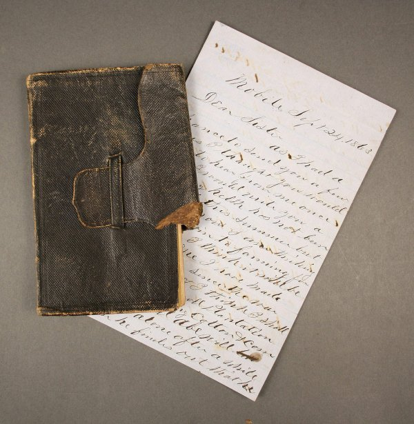 11: Civil War Era Diary and letter