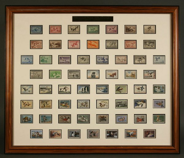 22: 1934-1993 Federal migratory duck stamp collection
