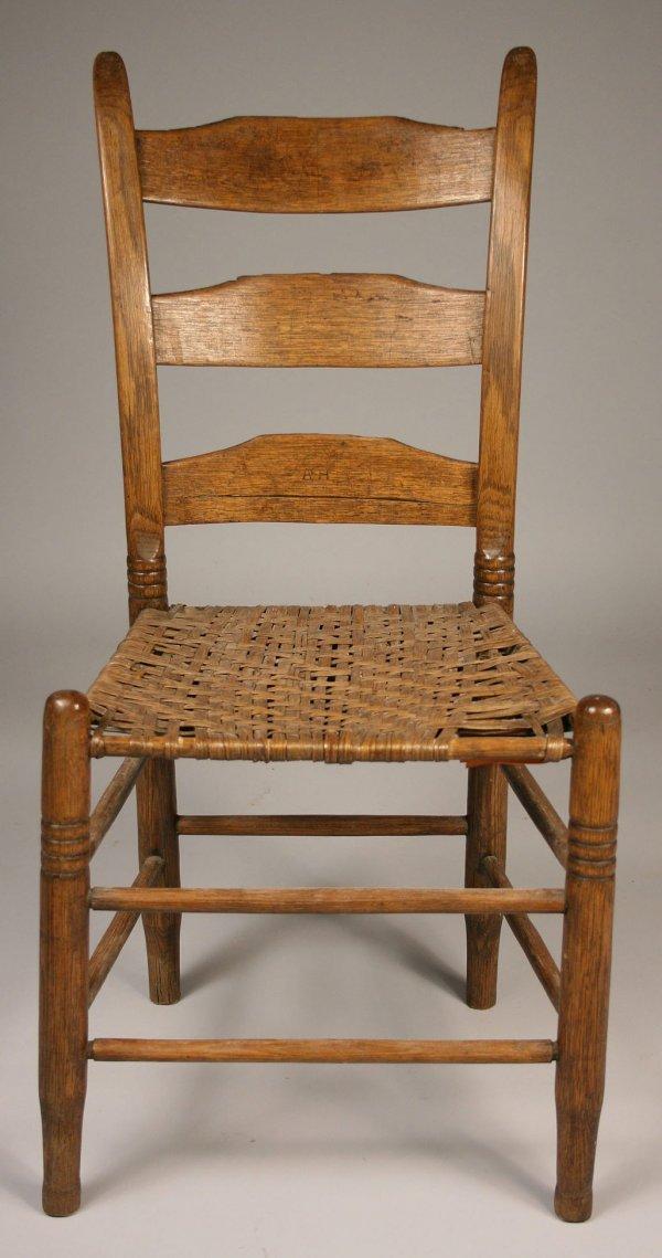 38: Tennessee side chair, Poyner school