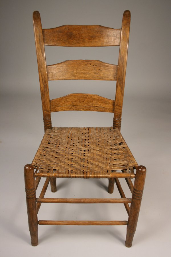 38: Tennessee side chair, Poyner school  - 3