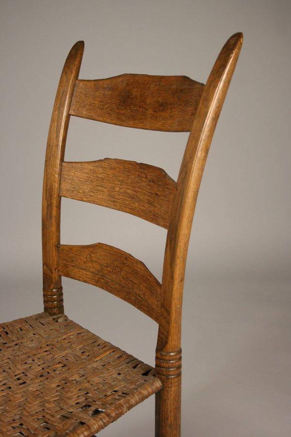 38: Tennessee side chair, Poyner school  - 5