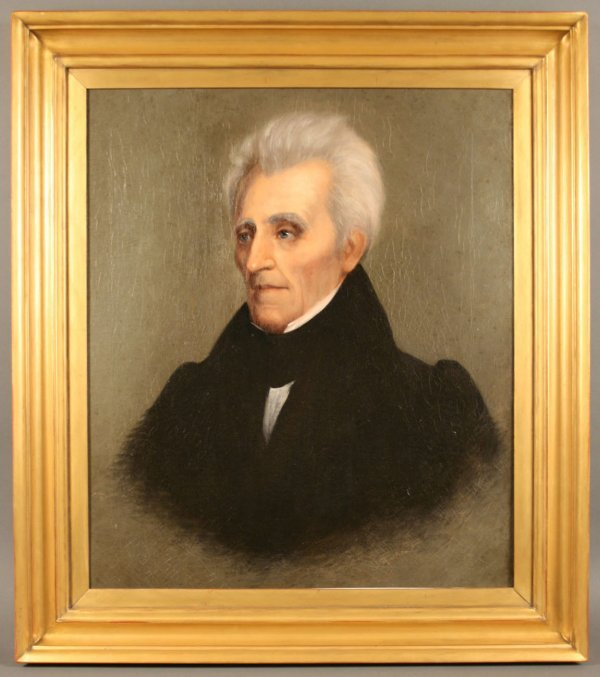 157: Andrew Jackson Portrait by William Stewart Watson,