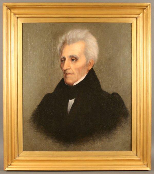 157: Andrew Jackson Portrait by William Stewart Watson,