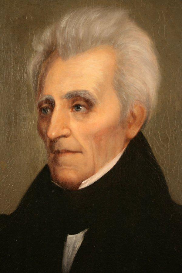 157: Andrew Jackson Portrait by William Stewart Watson, - 2