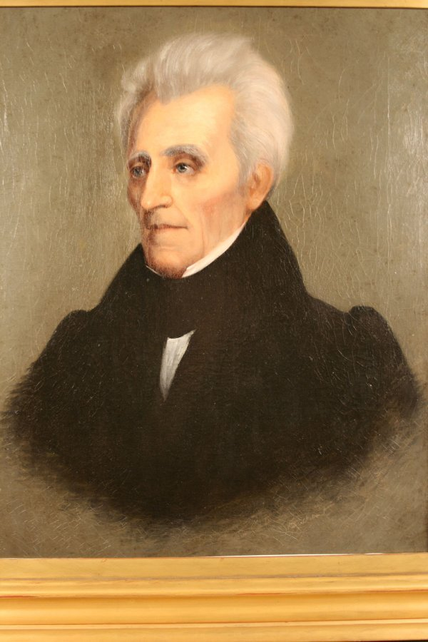 157: Andrew Jackson Portrait by William Stewart Watson, - 4