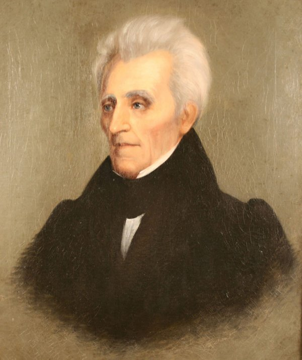 157: Andrew Jackson Portrait by William Stewart Watson, - 5