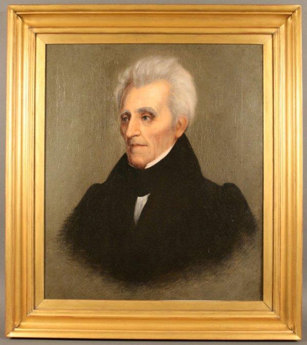 157: Andrew Jackson Portrait by William Stewart Watson, - 7