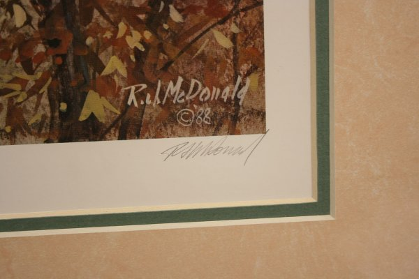 354: Four Ralph McDonald wildlife Prints - 3