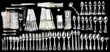 191 Pcs. Towle Paul Revere Pattern Sterling Silver
