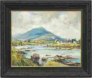 Kenneth Webb O/B Irish Landscape Painting