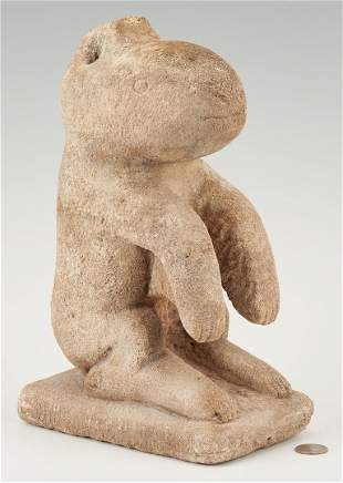 William Edmondson Limestone Critter Sculpture