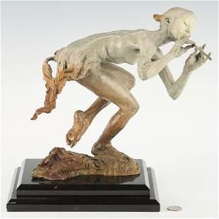 Richard MacDonald Bronze Sculpture, Piper, No. 1/175
