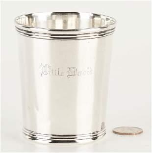 KY Coin Silver Julep Cup, Best & Co., Lexington