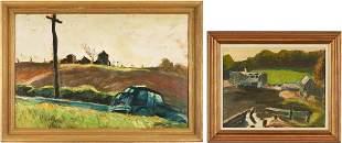 2 Harry Hering Oil Paintings