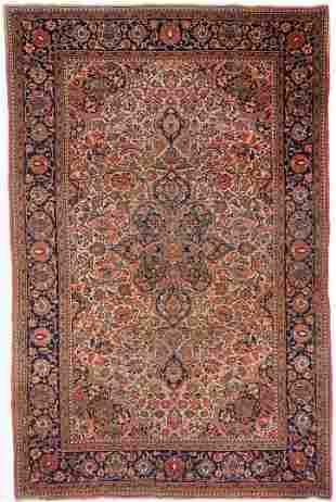 Antique Persian Farahan Sarouk Rug, approx. 6 x 4