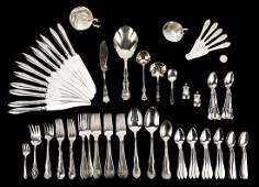 75 Pcs. Assorted Sterling Silver, incl. Towle, Reed &