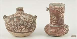 2 Pre-Historic Anasazi Culture Pottery Items
