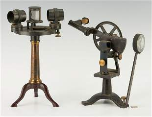 2 Scientific Instruments, incl. Wolz Pulfrich Type