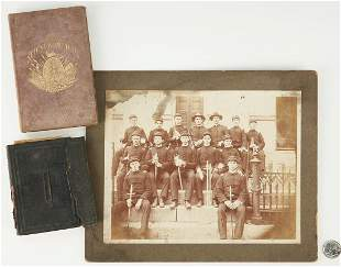 Civil War era Photos & Book Archive, 3 items