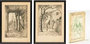 2 Elizabeth Verner Signed Prints & Signed Book, 3 items