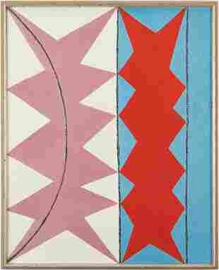 Douglas Denniston Abstract Oil on Canvas