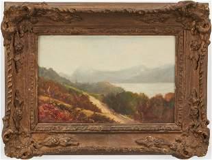 Attr. George Hyde Pownall O/B Landscape, Buttermere