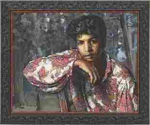 Amalio Garcia O/C, Portrait of a Boy