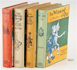 Frank Baum, 4 Wizard of Oz Books