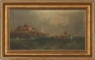 European O/B Coastal Scene, Maous