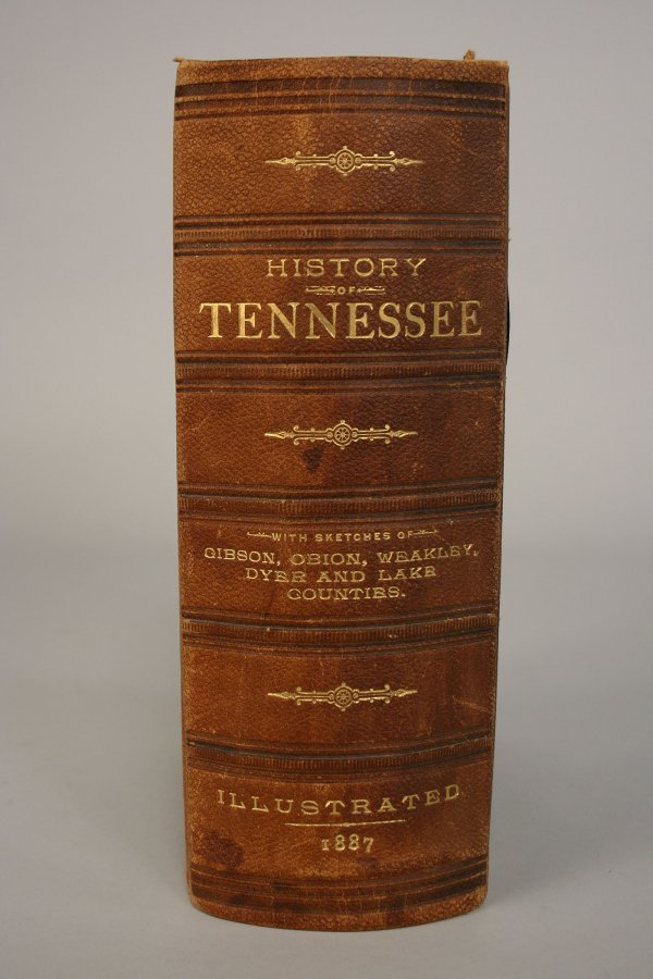 1: History of Tennessee Illustrated 1887