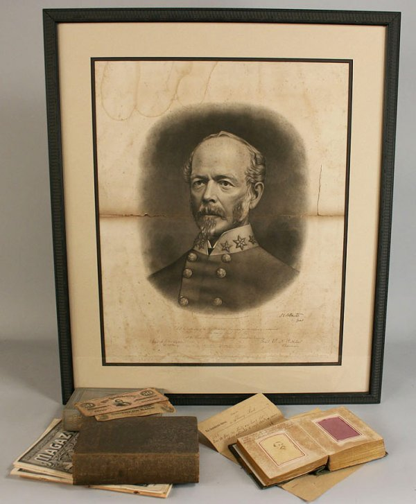 20: Lot of Civil War and related items, Reed Family, Gr