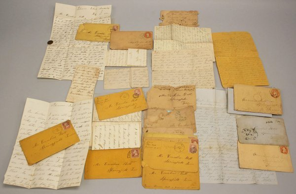 22: Civil War letter archive, 30th TN related