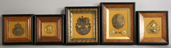 590 Napoleonic Medallions Military items brassbronz