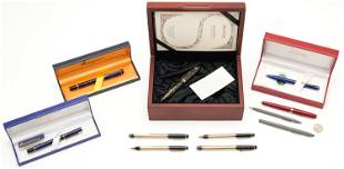11 Luxury Writing Instruments, incl. Montblanc,