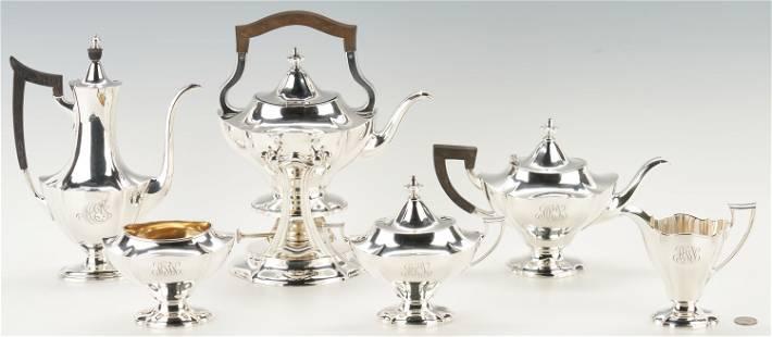 Reed & Barton 6-Piece Sterling Silver Tea Set