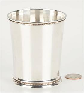 S.B. Hall Nicholasville KY Coin Silver Julep