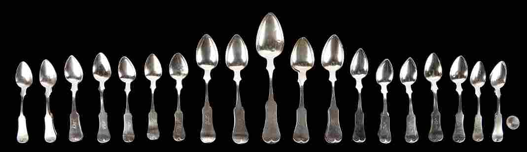 29 McDannold KY Coin Silver Spoons