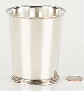 Hudson & Dolfinger KY Coin Silver Julep Cup