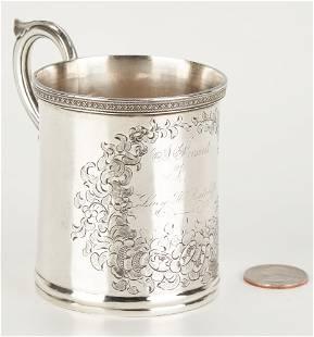 KY Coin Silver Mug, Poindexter
