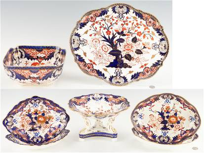 7 Royal Crown Derby King's Pattern Table Items