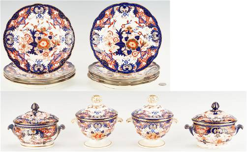 12 Royal Crown Derby King's Pattern Table Items