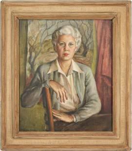 Emily Guthrie Smith O/C Portrait of a Lady