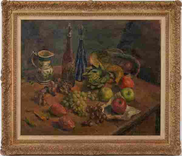 Josephine Kregarman O/C Still Life Painting