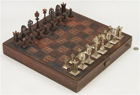 Richard L. Synek/Charles Martel Chess Set