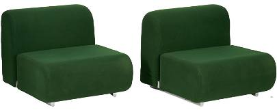 Pair Labeled Kazuhide Takahama Knoll Chairs