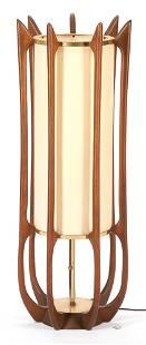 Adrian Pearsall Modeline Wood Lamp